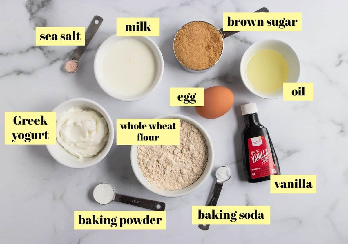 Recipe Ingredients.