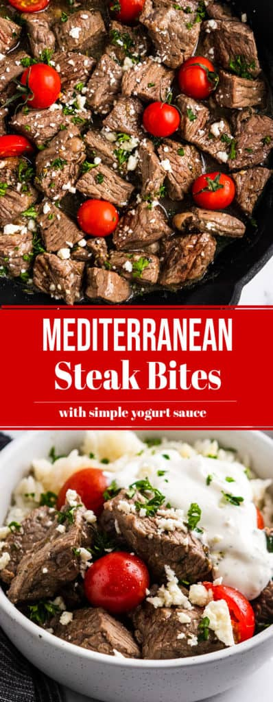 Mediterranean Steak Bites Pin.