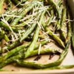 Parmesan Green Beans Pin.