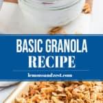 Basic granola pin.