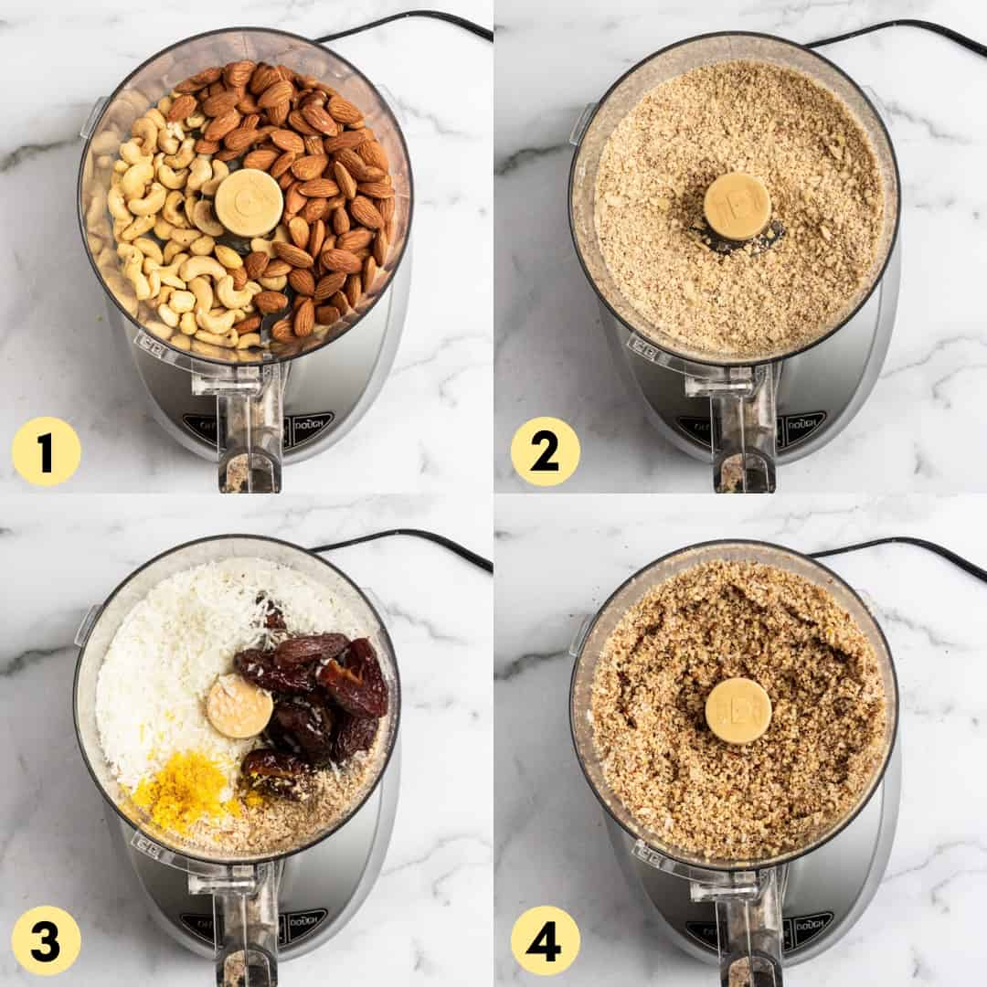 Process shots to make recipe.