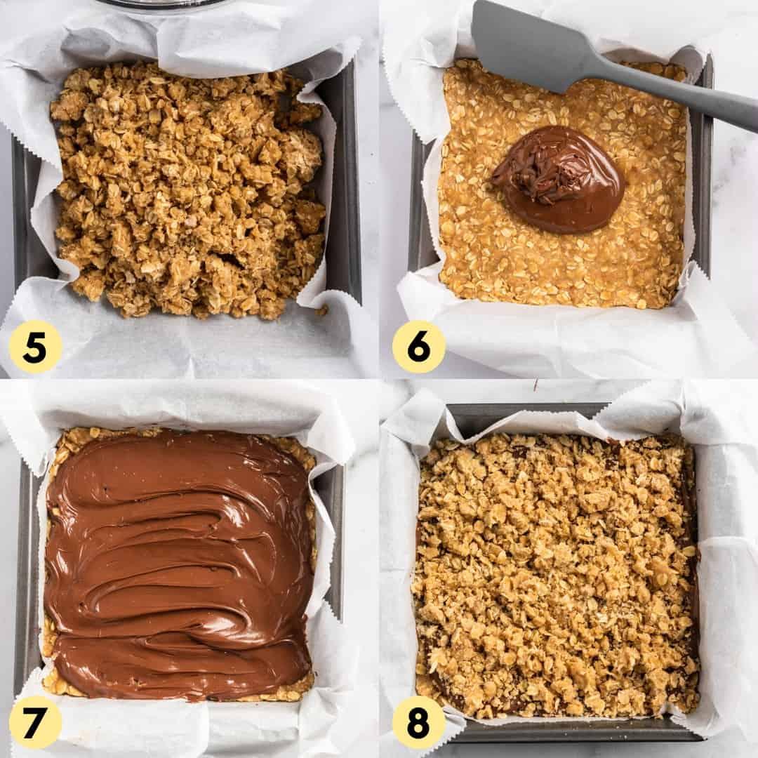 Recipe Process Shots steps 5 through 8.