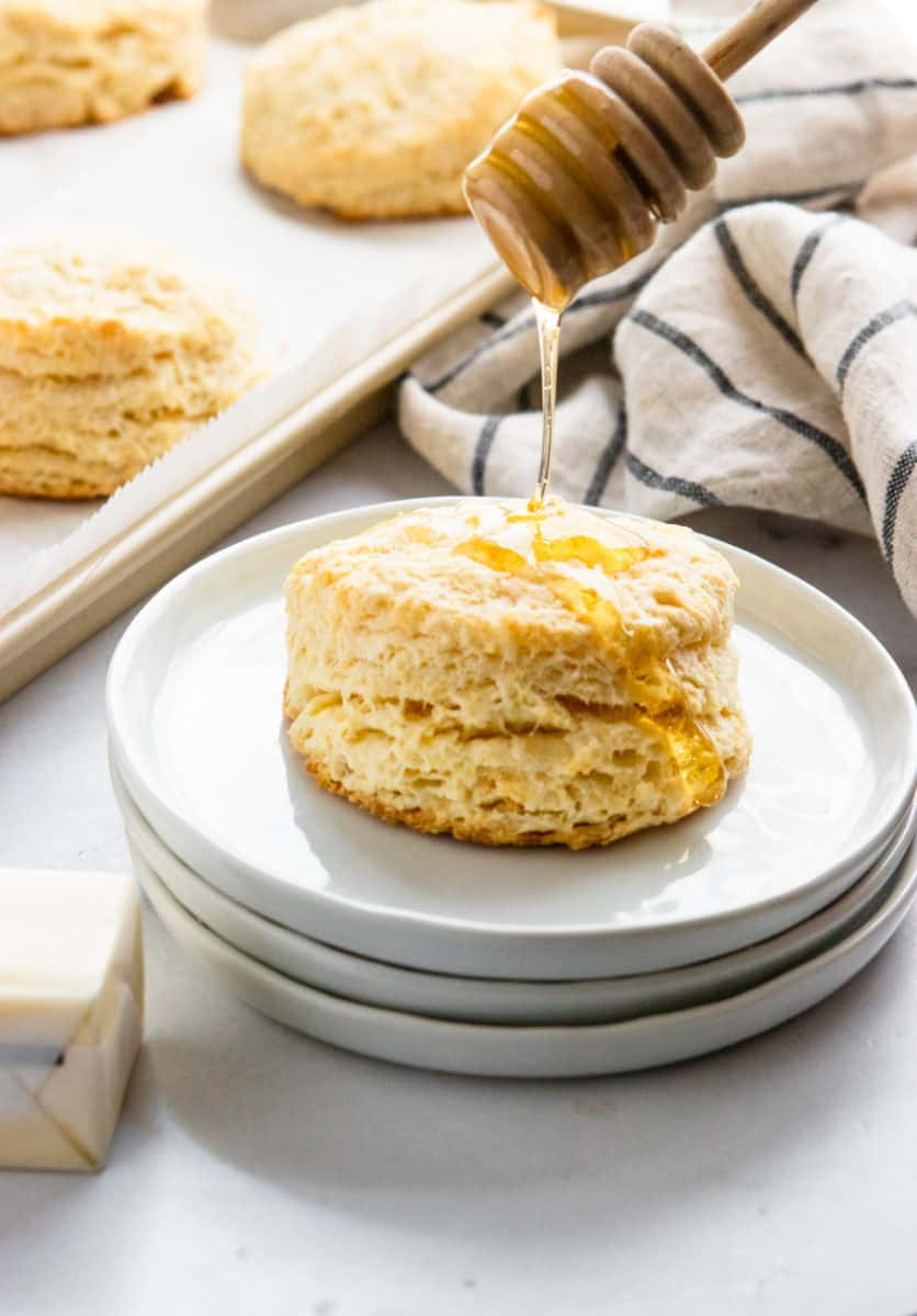 The Easiest Homemade Simple Honey Biscuits Lemons Zest