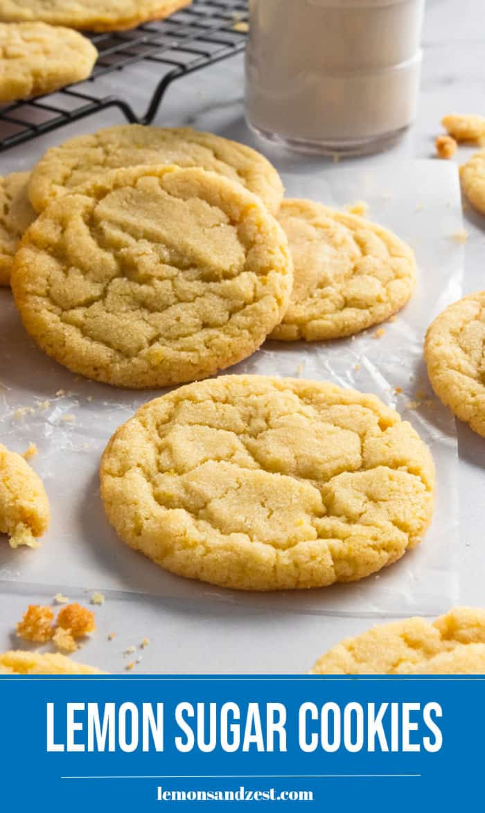 Cookies on parchment.