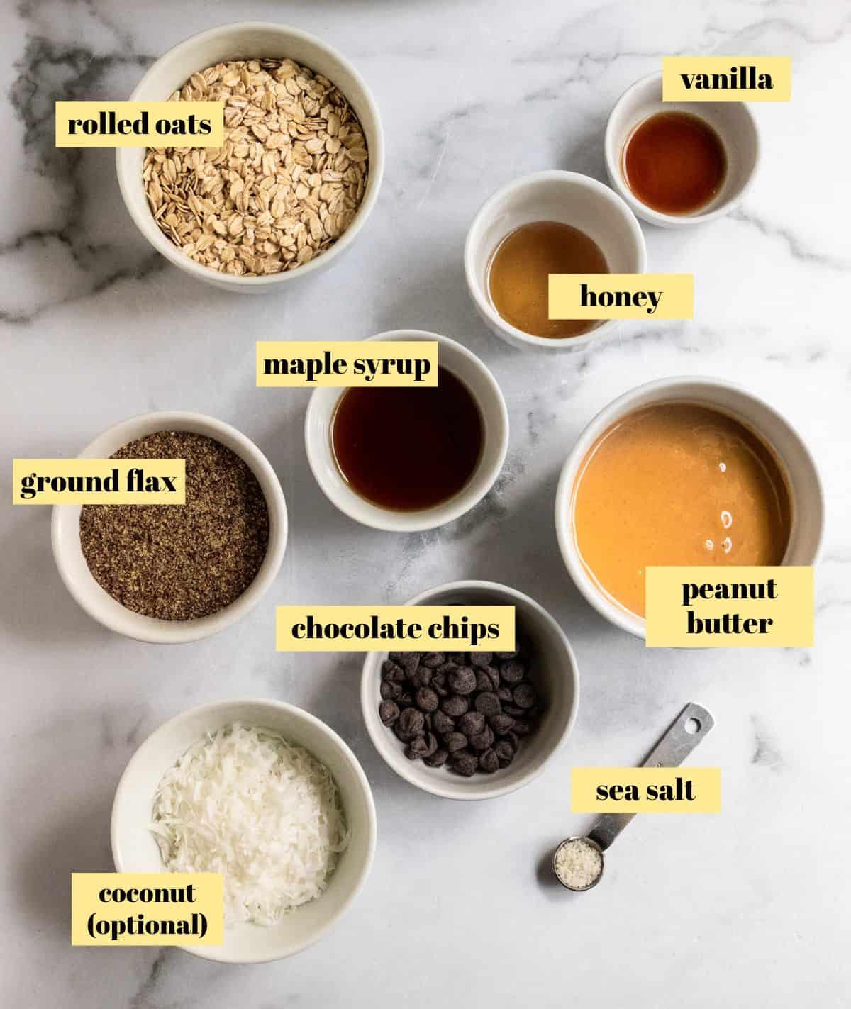 Ingredients to make recipe.