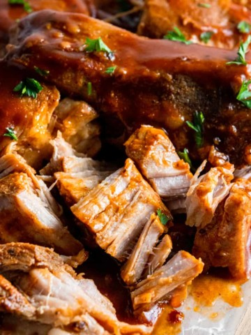 Slow Cooker Country Style Ribs.